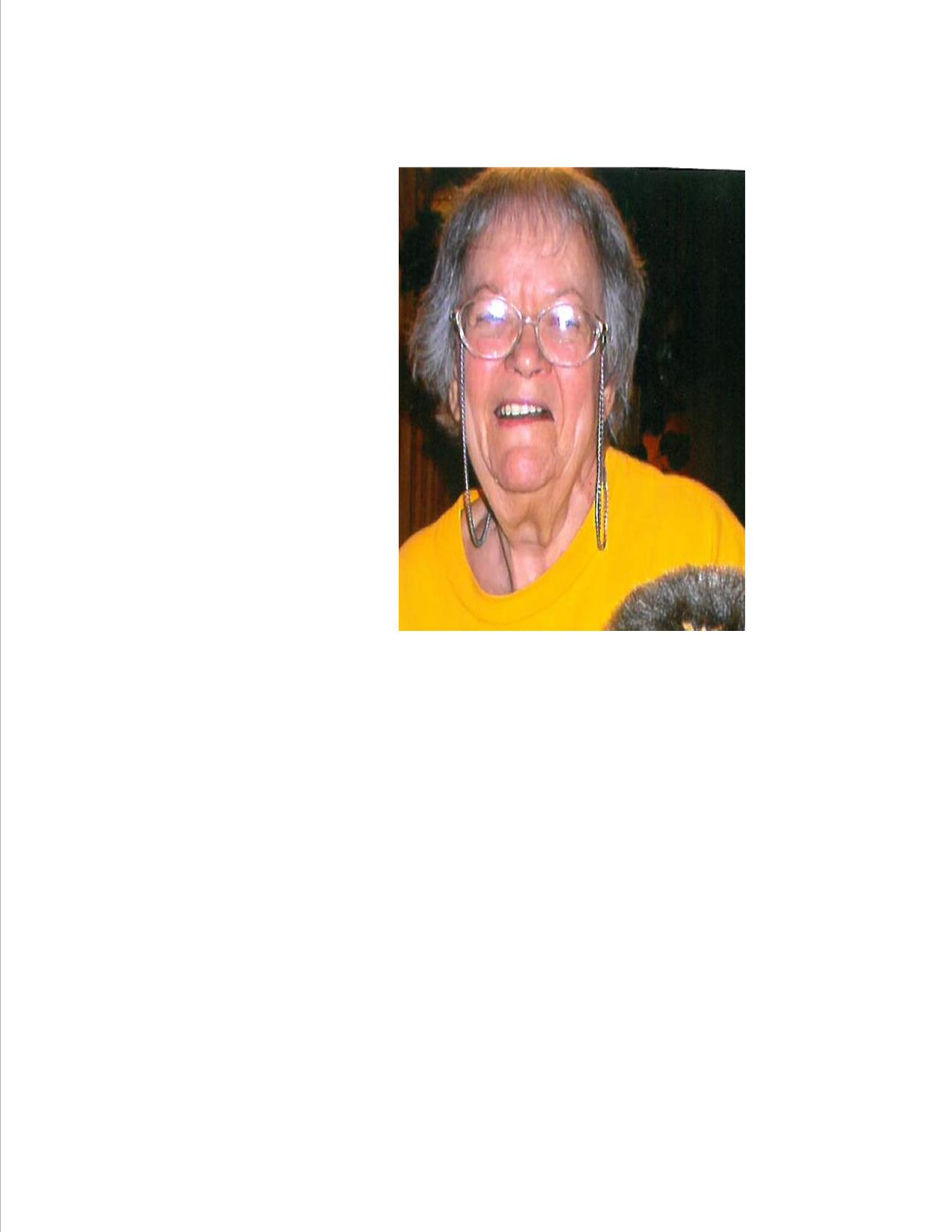 Mary Jo Robinson Obituary